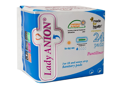Lady-Anion - Your first natural sanitary pad, made of